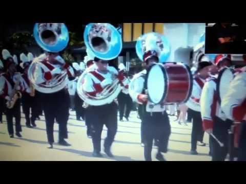 Port Clinton High School Band at the Citrus Parade!