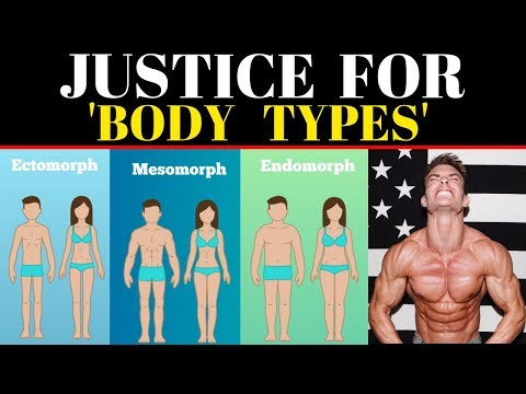 Body Types: Mesomorph, Ectomorph And Endomorph