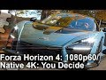 [4K] Forza Horizon 4: 1080p60 or 4K30 - You Decide! Xbox One X Early Analysis!