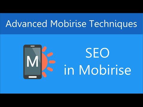 Search Engine Optimization (SEO) in Mobirise