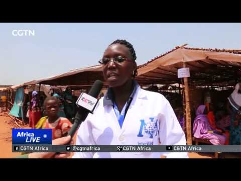 Chinese medical team treats thousands in South Sudan