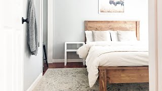 Gambar cover The Easiest Farmhouse Bed Build Ever