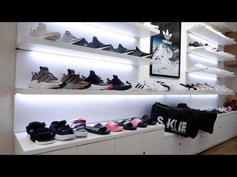 Thử Vào Một Shop Giày Chính Hãng ở Hà Nội
