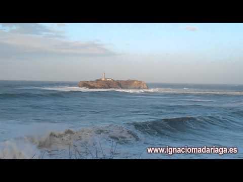 Swell on the Cantabrian Sea 08-02-2014 (Mar de fondo en el Cántabrico)