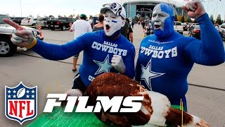 #8 Dallas Cowboys & Detroit Lions Game Day Tradition | Top 10 Thanksgiving Day Moments | Nfl Films