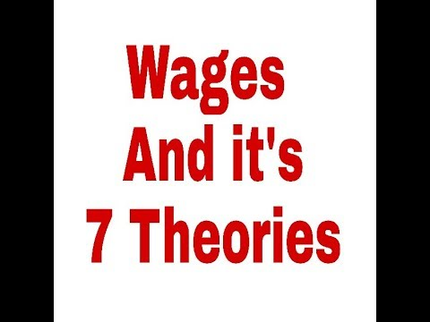 Download Wages And it's 7 Theories