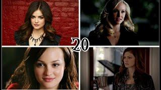 ►Топ 20 девушек из знаменитых сериалов