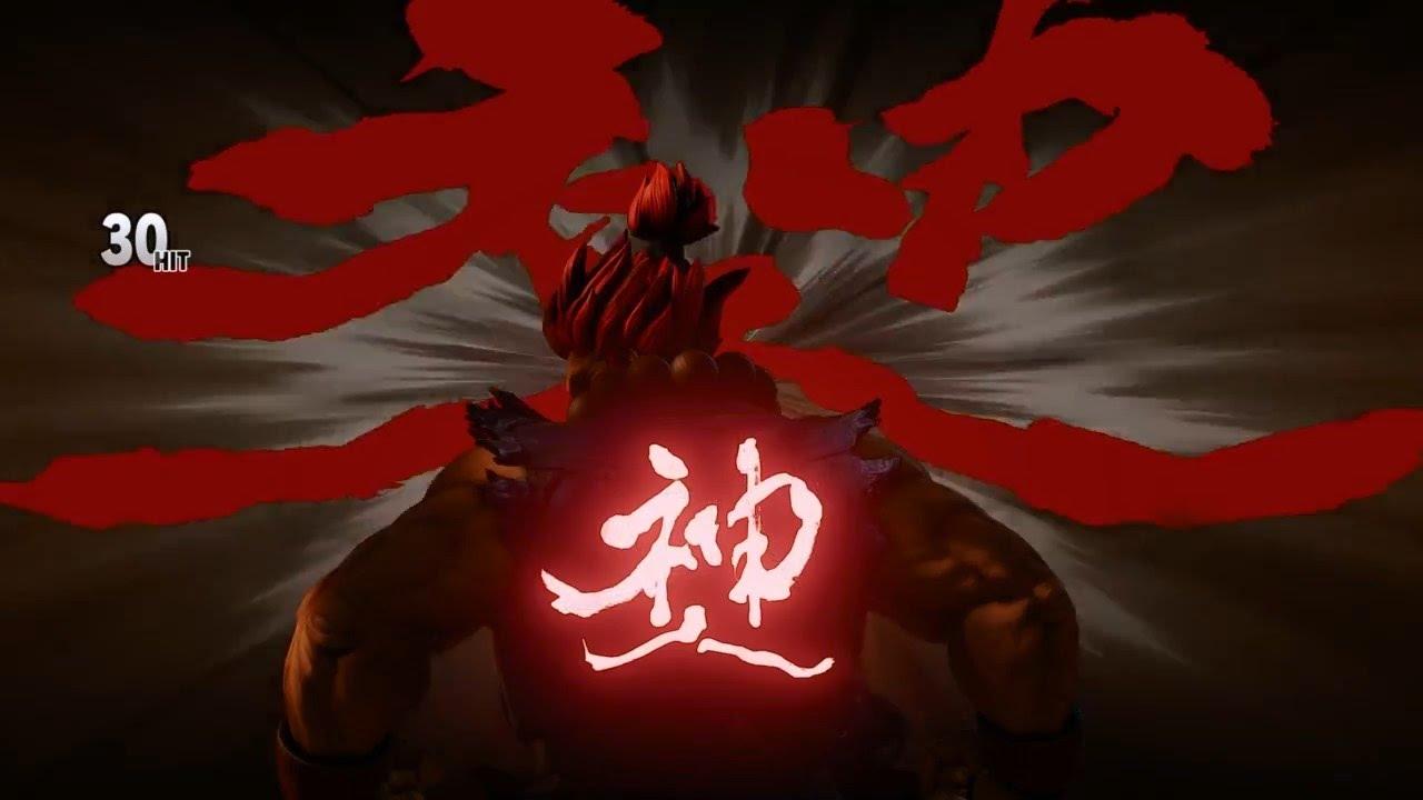 Street Fighter 5 Akuma My First Clutch Raging Demon Ftw Youtube
