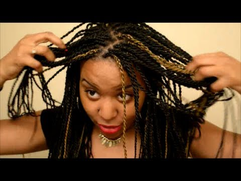 How to clean Scalp when in Senegalese Twists or Protective Style