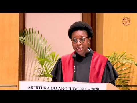 Cerimónia de Abertura do Ano Judicial 2020- Discurso da Procuradora Beatriz Buchili