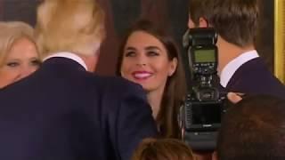 Hope Hicks: nueva directora de Comunicación de Trump
