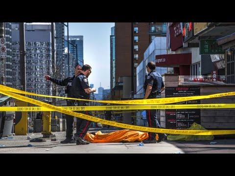 Mutmaßlicher Amokfahrer von Toronto des zehnfachen Mords angeklagt