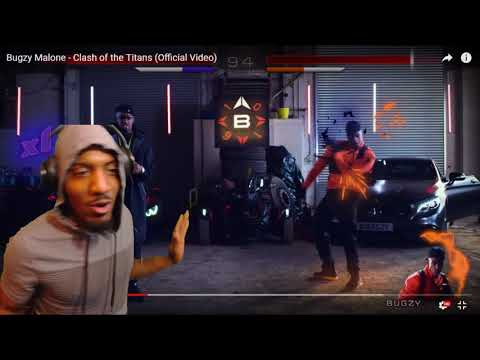 Bugzy Malone - Clash of the Titans  | REACTION