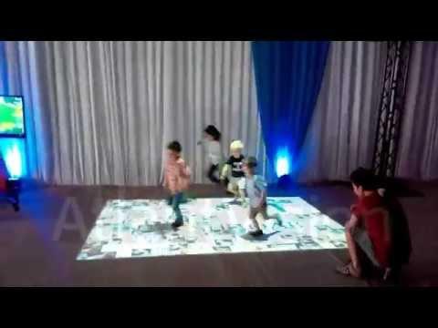 Interactive floor Qatar Doha AtlantVision