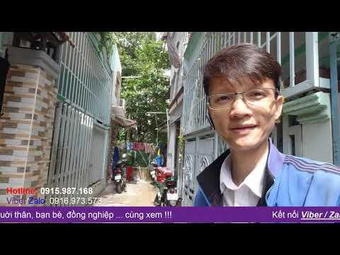 Video nhà bán Quận 8 sổ hồng riêng, gần Mặt tiền, nhà rộng rãi 2 lầu đúc kiên cố, đường Phú Định P16 Q8