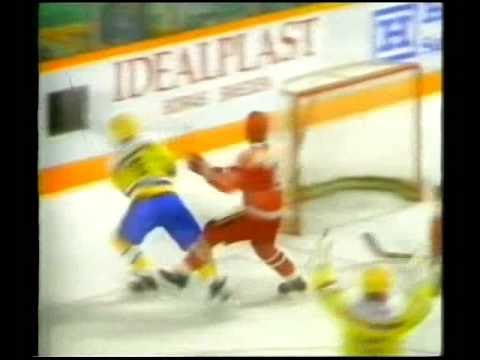 Canada Cup 1987: Sverige (SWE) -Sovjet (USSR) 5-3
