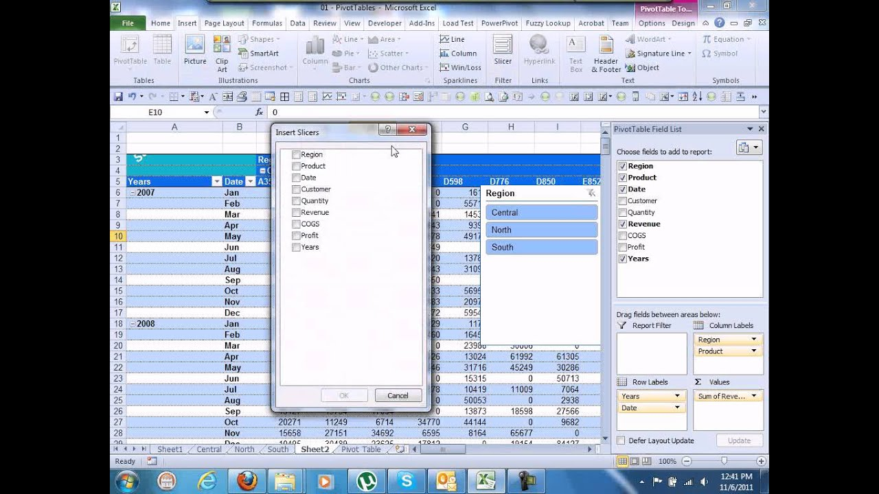 use of pivot table in excel pdf