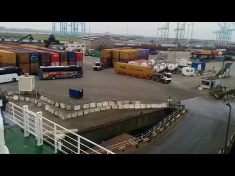 Cargo Movements at Zeebrugge Port