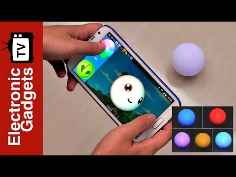 Robotic RC LED Ball For Android and IOS and Gaming System