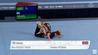 Youth Olympic Games 2018 - Acrobatic Gymnastics - Mixed Pair - Final - Israel