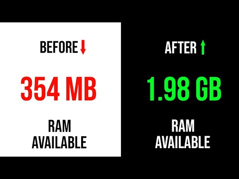 How to clean RAM on android without any App PC & Root - YouTube
