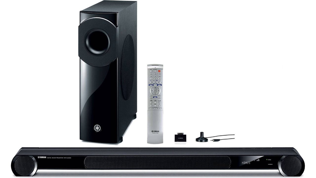 Yamaha ysp 4100 youtube for Yamaha 4100 soundbar