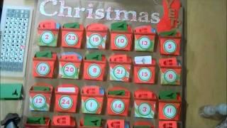 cricut art philosophy advent calendar countdown to christmas project