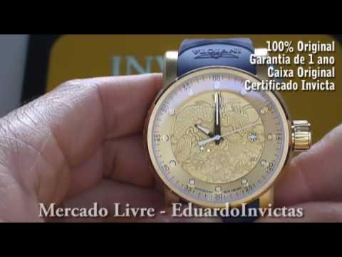 8c28cb99f77 Relógio Invicta 18215 S1 Rally Yakuza Masculino - YouTube