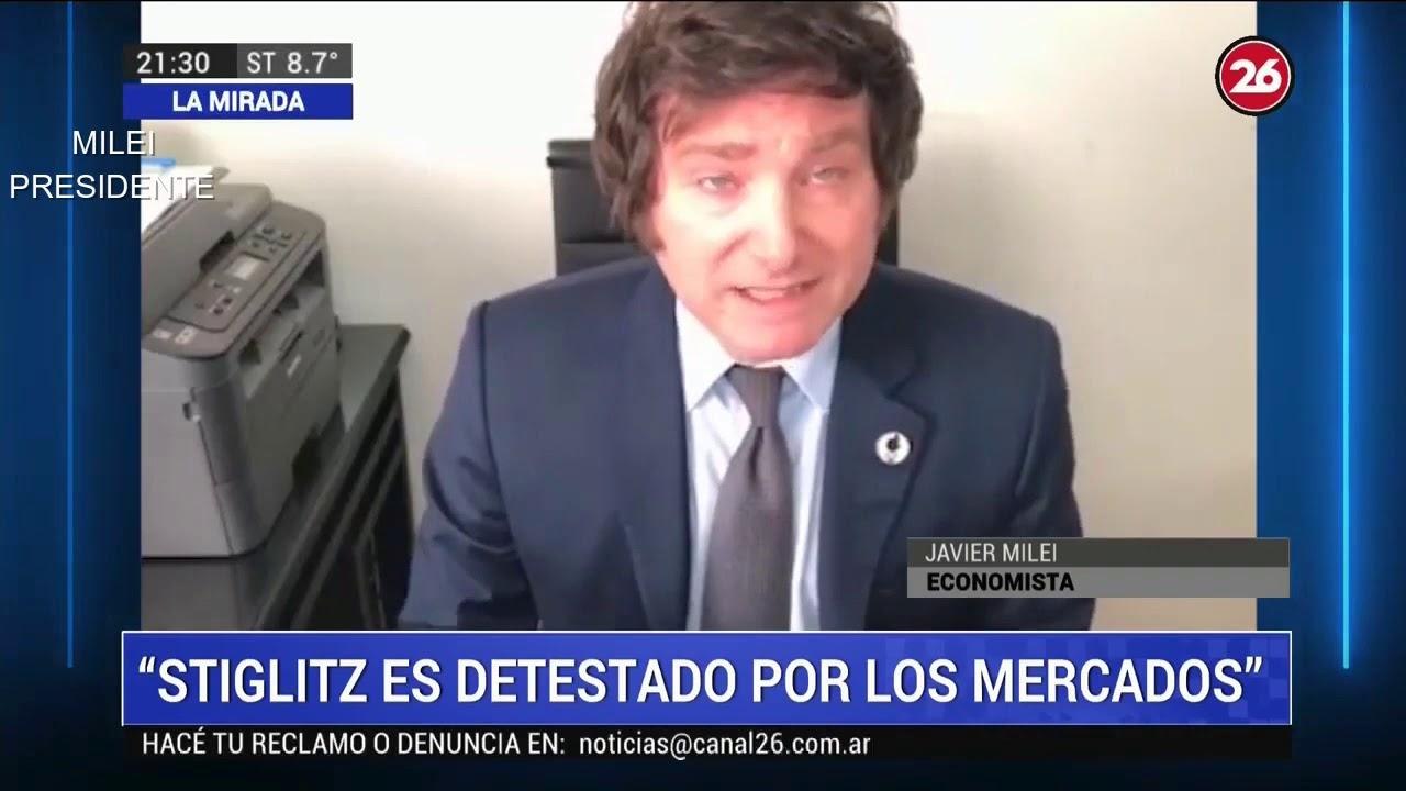 """""""Cuando estalle la crisis veremos al verdadero Alberto Fernández"""" Javier Milei en Canal 26- 05/07/20"""