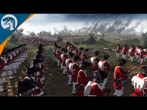 GIANT DEFENSE OF AMERICA - BUNKER HILL | BITF MOD | Men of War: Assault Squad 2 Gameplay