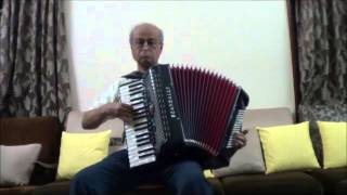 Tasveer Teri Dil Me on Accordion by Hemant Urdhwareshe