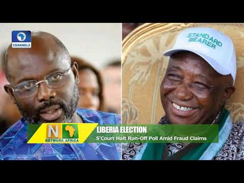 S/Court Halts Liberia's Run-Off Poll Amid Fraud Claims Pt 1| Network Africa |