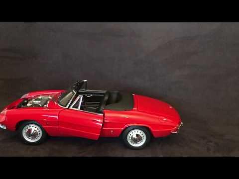 Alfa Romeo Spider Duetto 1/8