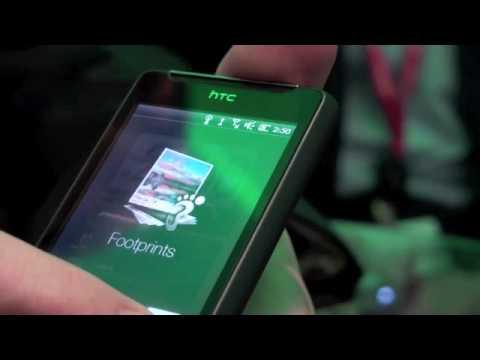 HTC HD Mini video hands on