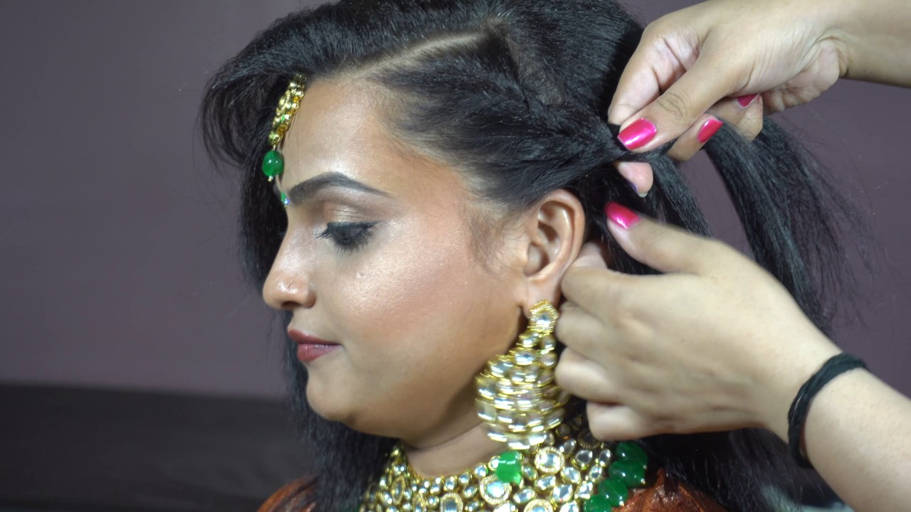 indian women hair style photos indian traditional hairstyle 7387 | maxresdefault