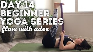 DAY 14/30 Beginner Yoga Series | Hamstring Flexibilty