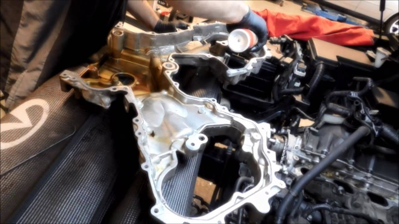 Infiniti Qx56 Timing Chains Removal And Installation Time