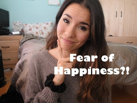 fear of happiness You are using happy as the term there are other references to this   cherophobia- fear of gaiety cherophobia is a fear of having fun.