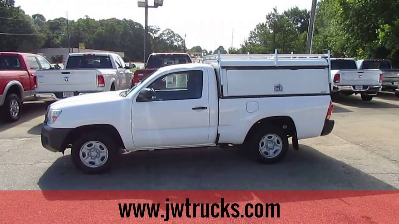 2013 toyota tacoma work truck w camper top truck showcase youtube. Black Bedroom Furniture Sets. Home Design Ideas