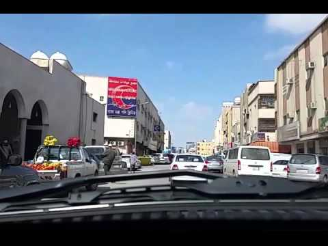 Riyadh driving to Pakistani Restaurant (Lahori Khaby)