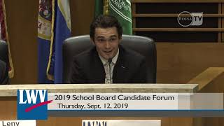 2019 Edina School Board Candidate Forum