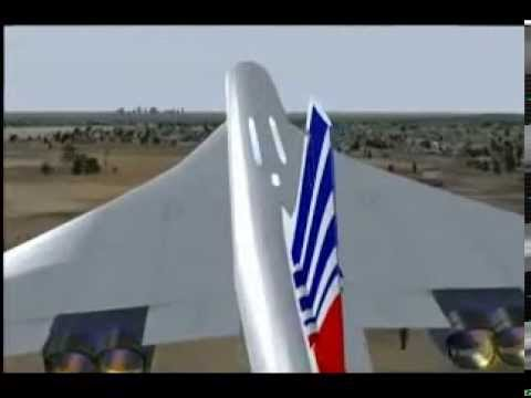 Париж 2000  Конкорд катастрофа