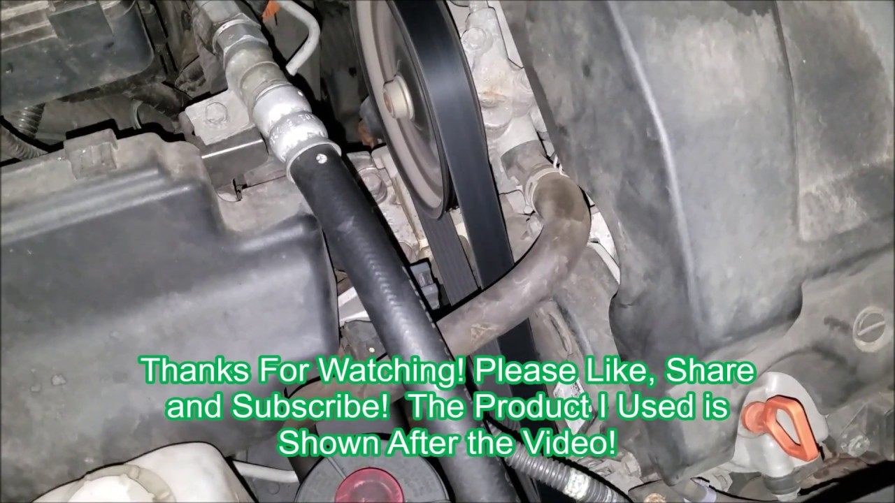 hight resolution of 2005 honda pilot serpentine belt replacement how to