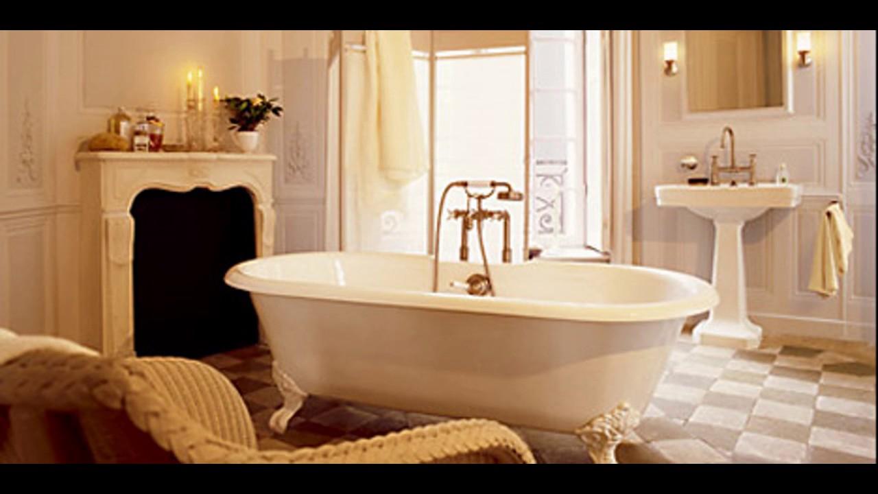 Ideas de diseño de cuarto de baño vintage - YouTube