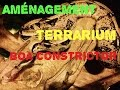 Aménagements terrarium boa construction imperator