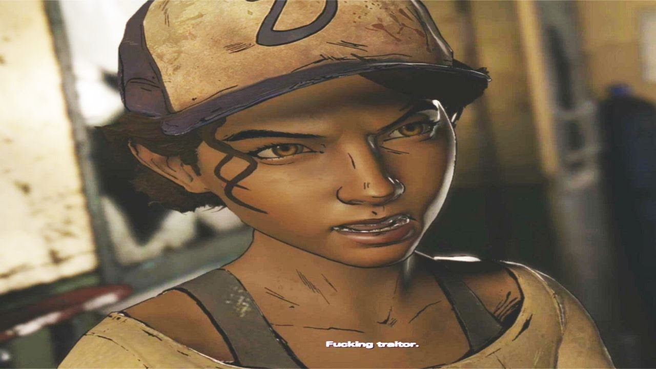 Betray Clementine Wtf You And 0 1 Of Players Did This The Walking Dead Season 3 Game