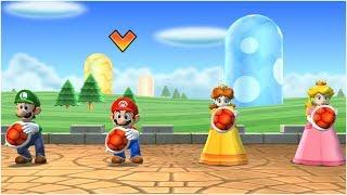 Mario Party 9 Step It Up - Luigi vs Mario vs Peach vs Daisy Gameplay | MARIOGAMINGHUB