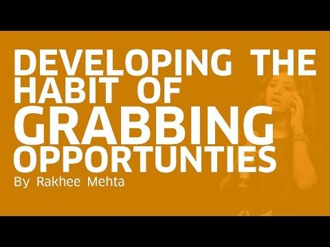 Habit of Grabbing Opportunities | Rakhee Mehta | Global Business Gypsy | Mumbai Startup Fest '17