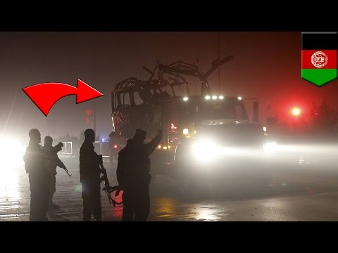 Suicide bomb attack: Explosion goes off near Russian embassy in Kabul, Afghanistan - TomoNews
