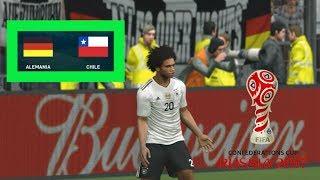 PES 2017   Alemania vs Chile   Copa Confederaciones   Gameplay PC